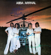 ABBA  Autograph Copy All 4 signed