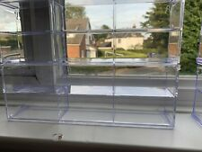 6 X Display Cabinet Showcase Acrylic Case For 6 X 1:64  No Boxes