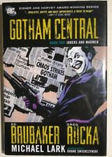 BATMAN Gotham Central book 2 Jokers & Madmen (2009) DC Comics hardcover TPB 1st