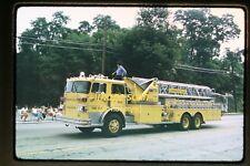 1974 Farmington Hills, Michigan Ladder Fire Truck #2313, Original Slide b29a
