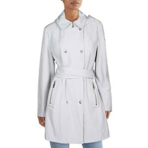 Vince Camuto Womens Softshell Water Repellent Trench Coat Outerwear BHFO 7621