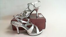 New Dyeables Wedding Shoes - Silver Metallic - Claire- US 9 B UK 7 #1R295