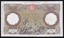 ITALY ------ 100  LIRE  1940 ------- F -------