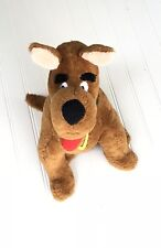 "SCOOBY-DOO Vintage Dog Collar Brown Spots Tail Stuffed Animal Plush 15"" Toy Doll"