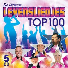 CD DE ULTIEME LEVENSLIEDJES TOP 100 (5CD-BOX * NEW & SEALED !!!)