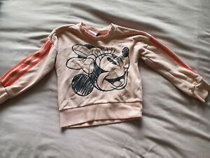 Girls Minnie Mouse Adidas Jumper Age 4-5