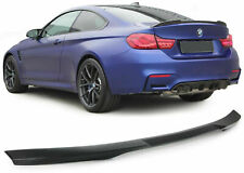 REAR CARBON BOOT SPOILER FOR BMW F32 SERIES 4 FROM 2013 SPORT LOOK NEW