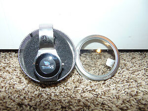 Tennessee Titans NFL Football Silver Watch In Case Container NEW Girls Kids