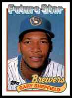 2010 TOPPS THE CARDS YOUR MOM THREW OUT GARY SHEFFIELD MILWAUKEE BREWERS #CMT-38