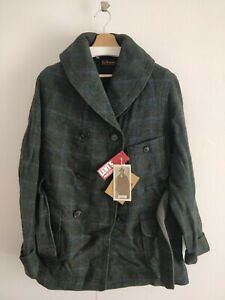 LEVIS VINTAGE CLOTHING LVC MACKINAW CHORE COAT GREEN 1920s brand new size L levi