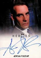 Heroes Archives Adrian Pasdar as Nathan Petrelli Autograph Card