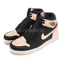 Nike Air Jordan 1 Retro High OG Black Crimson Tint Pink AJ1 Sneakers 555088-081