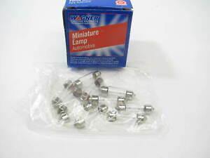 (10) Wagner 11005 Minature Light Bulb - SV8.5 13V 5 Watt
