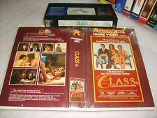 Vhs *CLASS* 1983 Pre Cert Oz Roadshow 1st Edition - Adult Drama-Cougar Content!