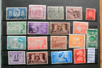 LOT STAMPS BRITISH COLONIES MH* (F125140)