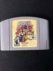 Paper Mario (Nintendo 64) *Label Ware*