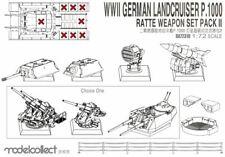 MODELCOLLECT ua72310 - 1/72 WWII GERMANY Essence p.1000 Rat weapon set