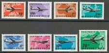 Hungary 1977 MNH Mi 3222-3229 Sc C377-C384 Planes, Airlines, Maps.Concorde **