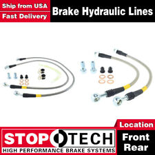 Stoptech Front + Rear Stainless Steel Brake Lines For 2000 Chevy Suburban 1500