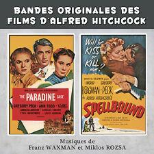 CD The Paradine Case and Spellbound Bandes Originales des Films Alfred Hitchcock