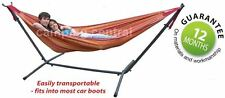 TROPICANA HAMMOCK FRAME STAND SET + DOUBLE HAMMOCK (200KG LIMIT)