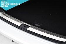 Stainless Steel Inner Rear Bumper Protector trims for VW Golf 7 Mk7 2013 - 2017