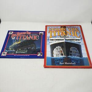 On Board the Titanic Giant Cutaway Inside the titanic Books Educational Lot