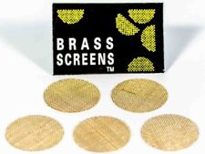 "NEW - 10 X BRASS 3/4"" Tobacco Smoking Pipe Screens (FAST CANADIAN SHIPPING)"