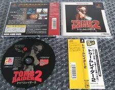 Tomb Raider 2 Sony PlayStation PS1 NTSC-J Jpn Japanese