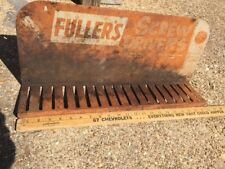 60S Original Vintage Fullers Screw Drivers Display Sign
