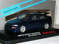 Minichamps/Amerang 1992 Ford Escort RS Cosworth Metallic Blue LTD ED 1/43