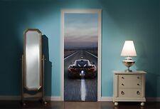 Door Mural Mclaren P1 View Wall Stickers Decal Wallpaper 200