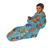 Toy Story Buzz & Woody Galaxy Youth Comfy Throw - The Blanket with Sleeves
