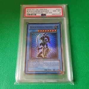 Black Luster Soldier 1st Edition 2004 PSA 8 NM/MINT SYE-024 Yugi Evolution Card