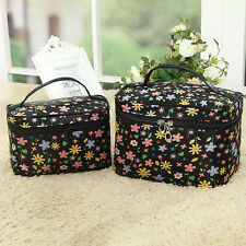 Ladies Cosmetic Bag Make Up Case Travel Toiletry Wash Organiser Large Bag Touch