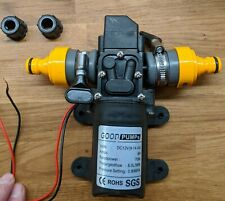 12V 6L/Min  Self Priming Water Pump with hozelock fittings