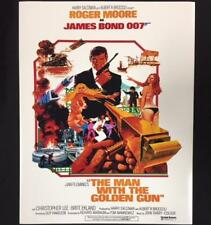 James Bond 007 * MAN WITH THE GOLDEN GUN * 11x14 Movie Poster Photo ~ROGER MOORE