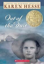 Out of the Dust by Karen Hesse (1999, Paperback) - A Scholastic Book