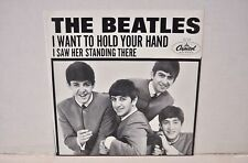 "Beatles ""I Want To Hold Your Hand/I Saw Her..."" NM 30th Anniv. NR 58123"