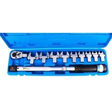 BGS Drehmoment Schlüssel Satz 40-210 Nm 1/2 Zoll Vierkant Maulschlüssel 13-30 mm