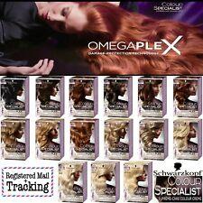 NEW!! Schwarzkopf COLOR SPECIALIST - OMEGAPLEX Technology -15 Different Colours