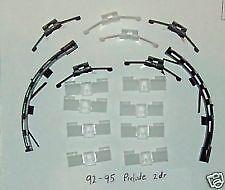 1995 Honda Prelude Front Windshield 2 Door Coupe Plastic Molding Clip  Moulding