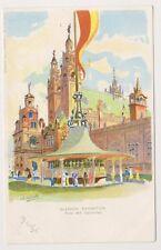 More details for glasgow exhibition postcard - fine art galleries by a h scott (artist) (a98)