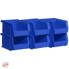 Garage Storage System Plastic Containers Drawers Hardware Bins Organizer Lot NEW