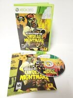 Red Dead Redemption: Undead Nightmare (Microsoft Xbox 360, 2010 Complete W/ Map