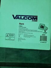 Valcom 5 Watt 1 Way Paging Horn - Gray V-1030C- Gy