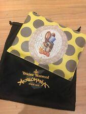 BNWT Yellow/grey Vivienne Westwood Anglomania Bunny Clutch Bag