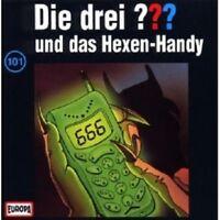 """DIE DREI ??? """"UND DAS HEXEN-HANDY (FOLGE 101)"""" CD HÖRBUCH NEUWARE"""