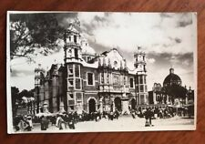 Basilica de Guadelupe Mexico photo postcard unused but pre-owned  VG cond.