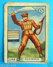 ss figurines cromos figurine v.a.v. vav la guerra nostra 87 cina fanteria china